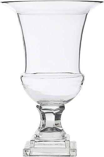 Accent Decor Glass Ellewood Urn 8 x 8 x 11.75 31310.00