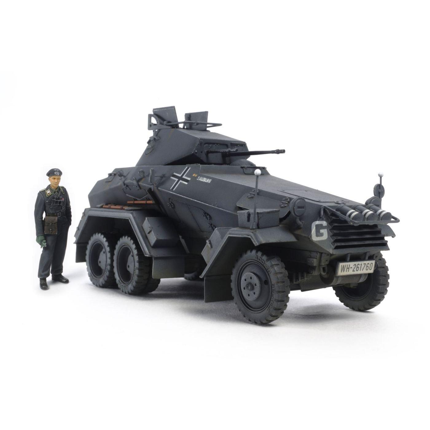 Tamiya America, Inc 1 35 German 6-Wheeled Sd.Kfz.231 Heavy Armored Car, TAM37024