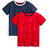 Mightly Kids Organic Cotton T-Shirt Short Sleeved Crewneck