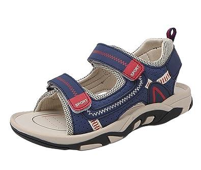 Insun Jungen Sandalen Kinder Sommer Sportliche Sandale mit Klettverschluss Schuhe Grün 33 EU ZPldIdU4A
