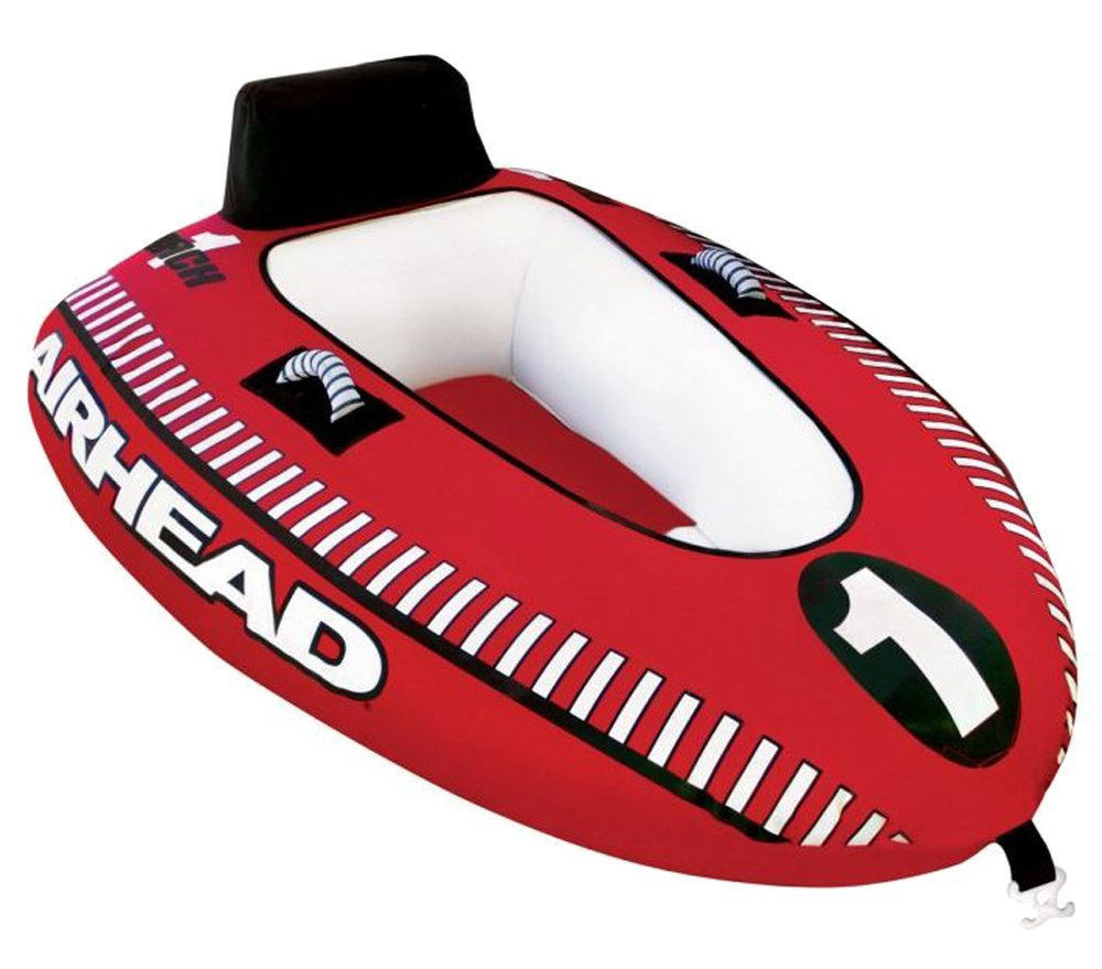 Airhead Mach 1 Single Rider Inflatable Boat Towable Tube Towing Harness Tow Ahm1 Cell Phones Accessories