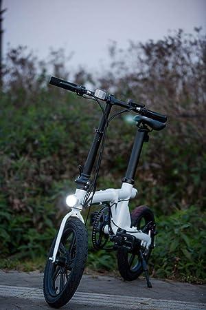 Suyanouz Bicicleta EléCtrica Plegable De 16 Pulgadas De AleacióN ...