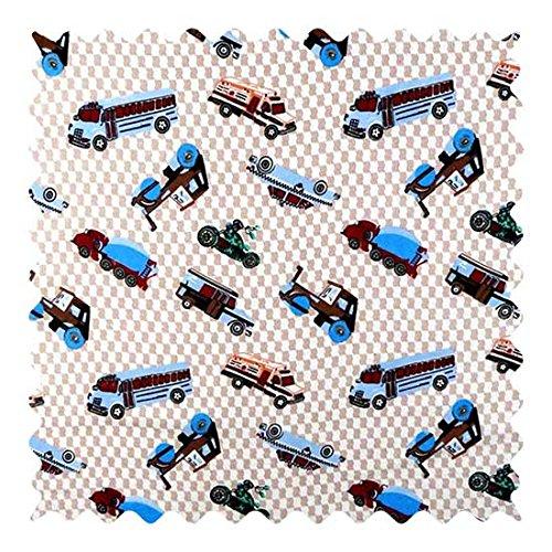 Buy sheetworld vehicles cream fabric by the yard