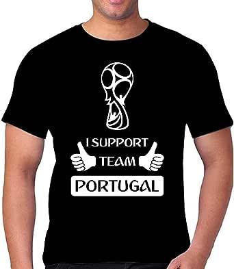 I Love Team PORTUGAL in Fifa 2018 Unisex Tshirt