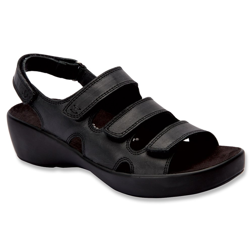 Drew Women's Alma US|Black Sandals B00SRYPIOE 10.5 B(M) US|Black Alma Smooth Leather 7a62b2