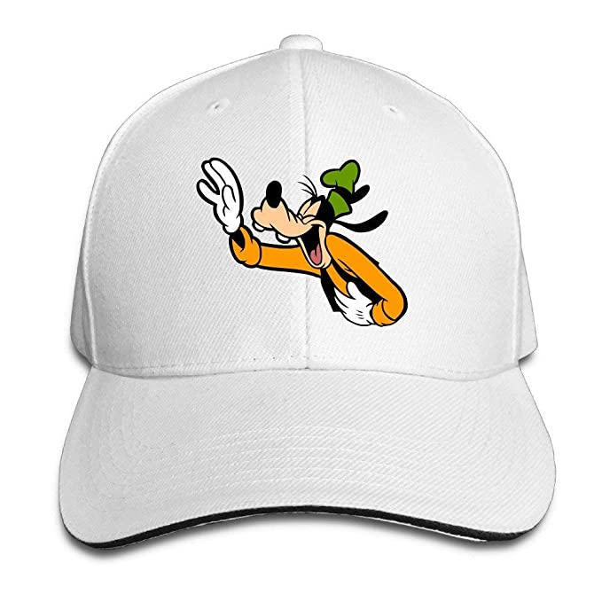Amazon.com  Famouse Cartoon Laughing Goofy Snapback Caps Summer ... 2f950e0ab8e