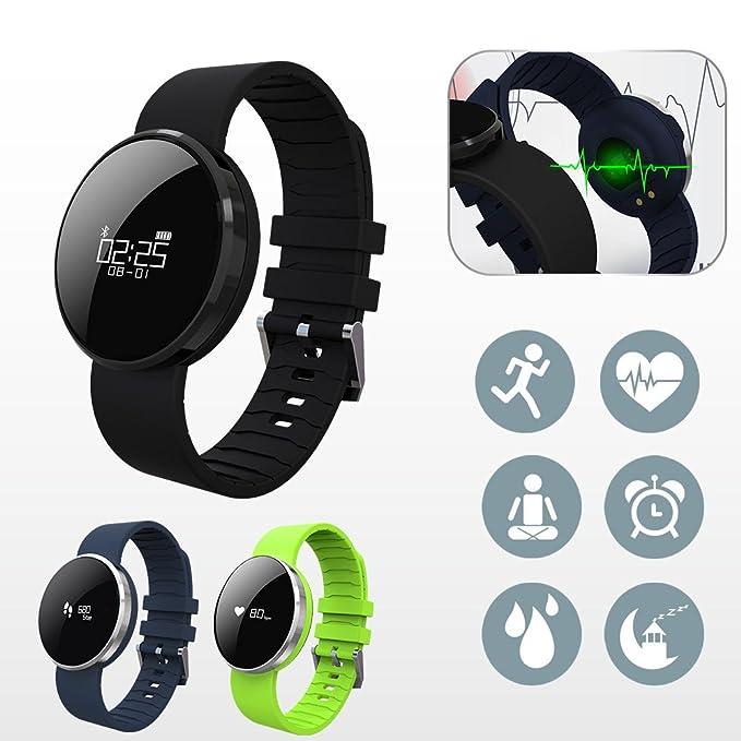 Floveme Fitness Tracker inteligente podómetro podómetro ...