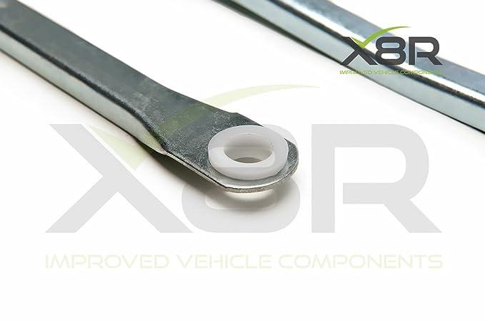 limpiaparabrisas barra recambio Kit Para Solo UK Micra K12 2003-2010: Amazon.es: Coche y moto