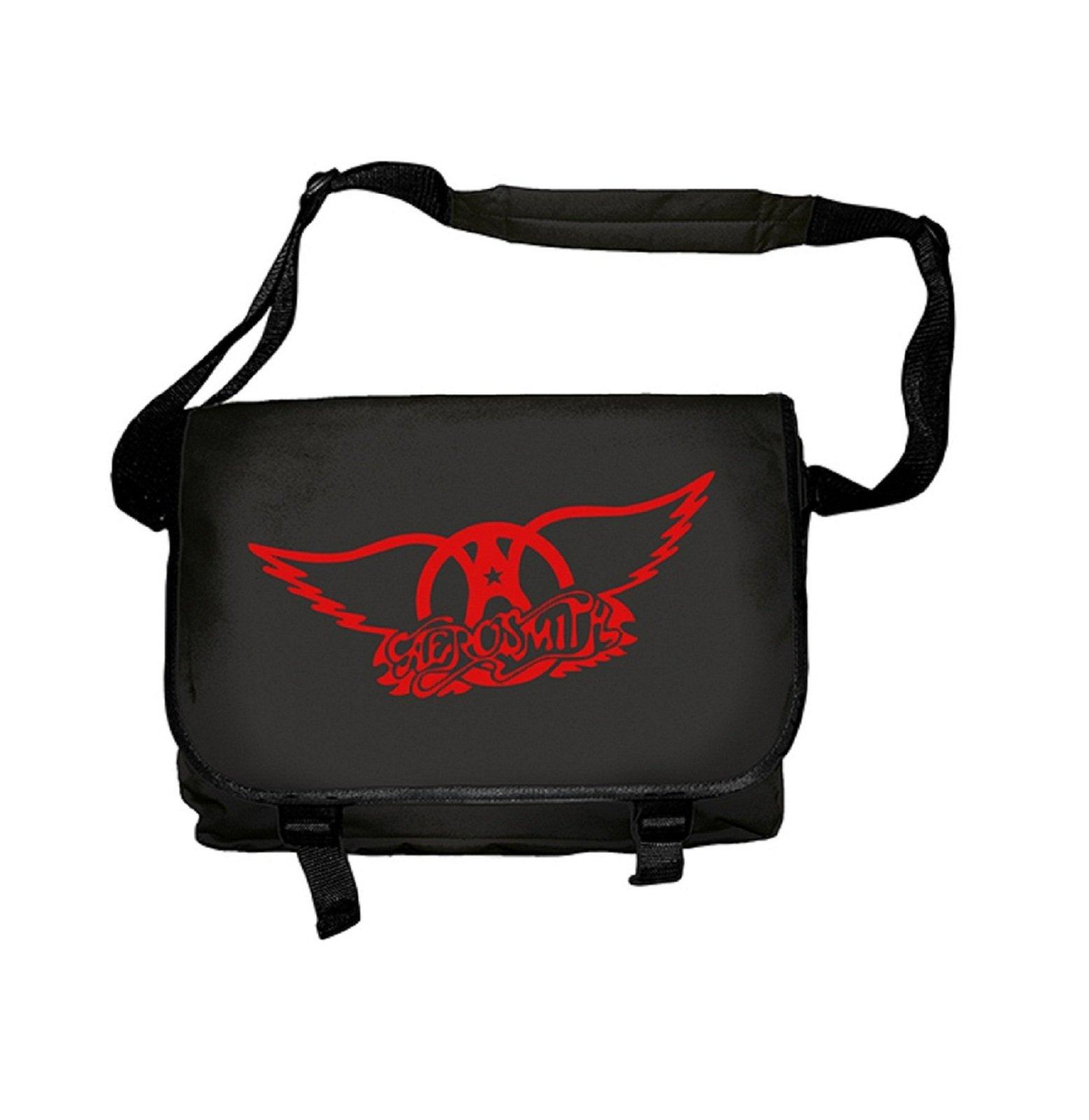 Aerosmith Classic Logo Official Black Messenger Bag