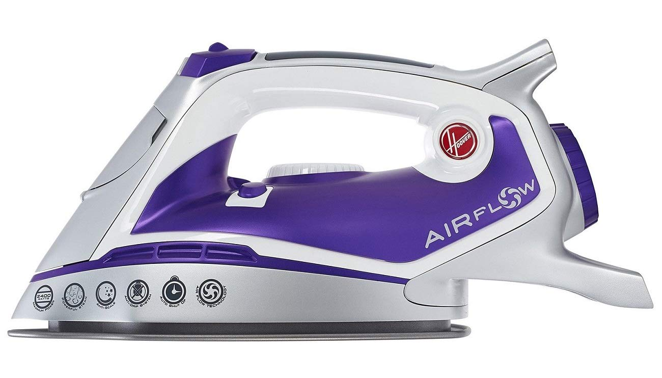 Hoover 39600148 TIF2600 Airflow Steam Iron, 2600 W [Energy Class A]