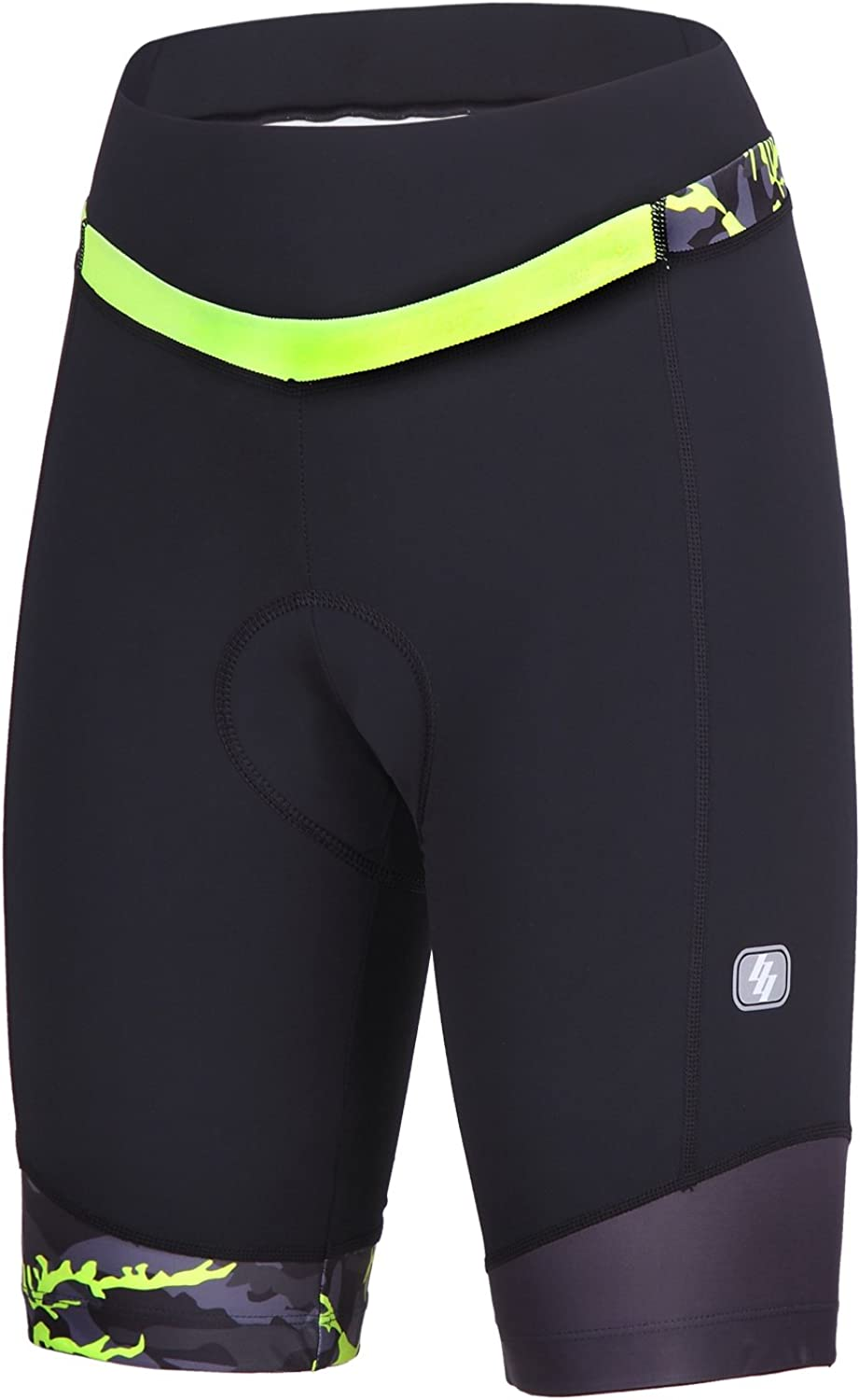 New Year New You Womens Bike Shorts for Cycling with 3D Padded Pink Ride Women Cycling Shorts NOOYME