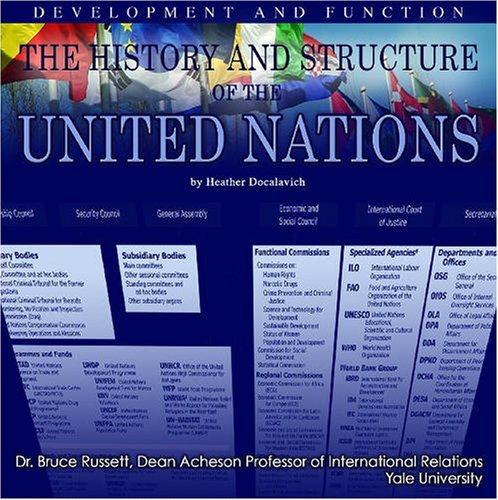 The History And Structure of the United Nations: Development And Function (The United Nations: Global Leadership)