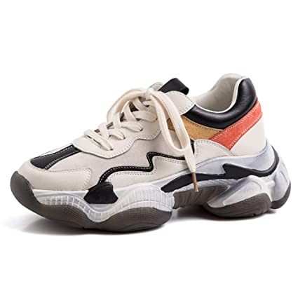 nuovi stili dc32b e890d YAN Sneakers da Donna Nuove 2019 Low-Top Scarpe Sportive ...