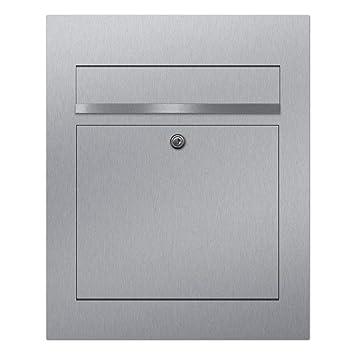 Briefkasten Edelstahl Unterputz B3, moderner Premium Design ...