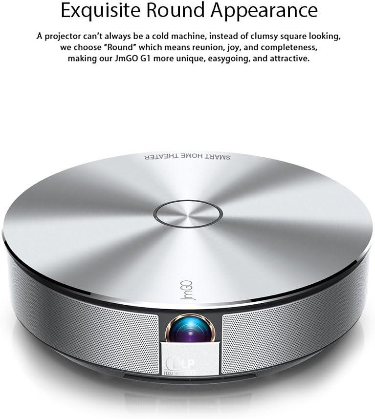 JmGO G1 - Proyector Home Cinema LED HD para hogar 1500LM@ CPU 1.5G ...