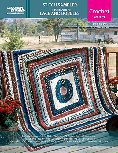 Lace Crochet Afghan - 4
