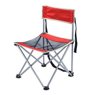 HMWPB Extérieure De Chaises Pliantes Portable Chaises De Camping Pêche Chaises Tabouret Confortable Lightweight Avec Sangle Jardin Camping Pêche Randonnée Picnic