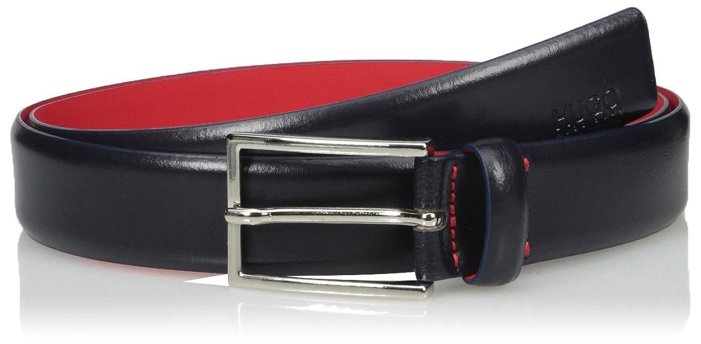 HUGO BOSS mens Gavrilo Leather Belt