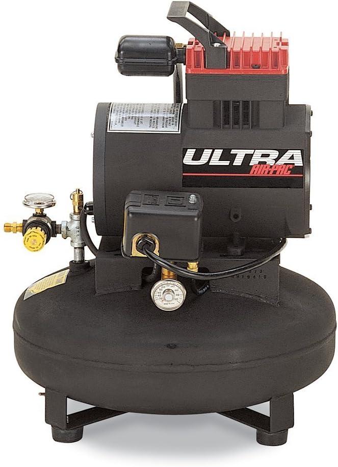Thomas Compressors T-30-Horsepower 12 Amp 1-1 4-Horsepower 4-1 2-Gallon Oil-Free Pancake Tank Compressor