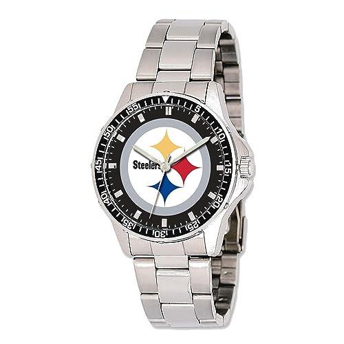 Reloj Mens esJoyería NflAmazon Steelers Pittsburgh Trainer mv8Nn0wO
