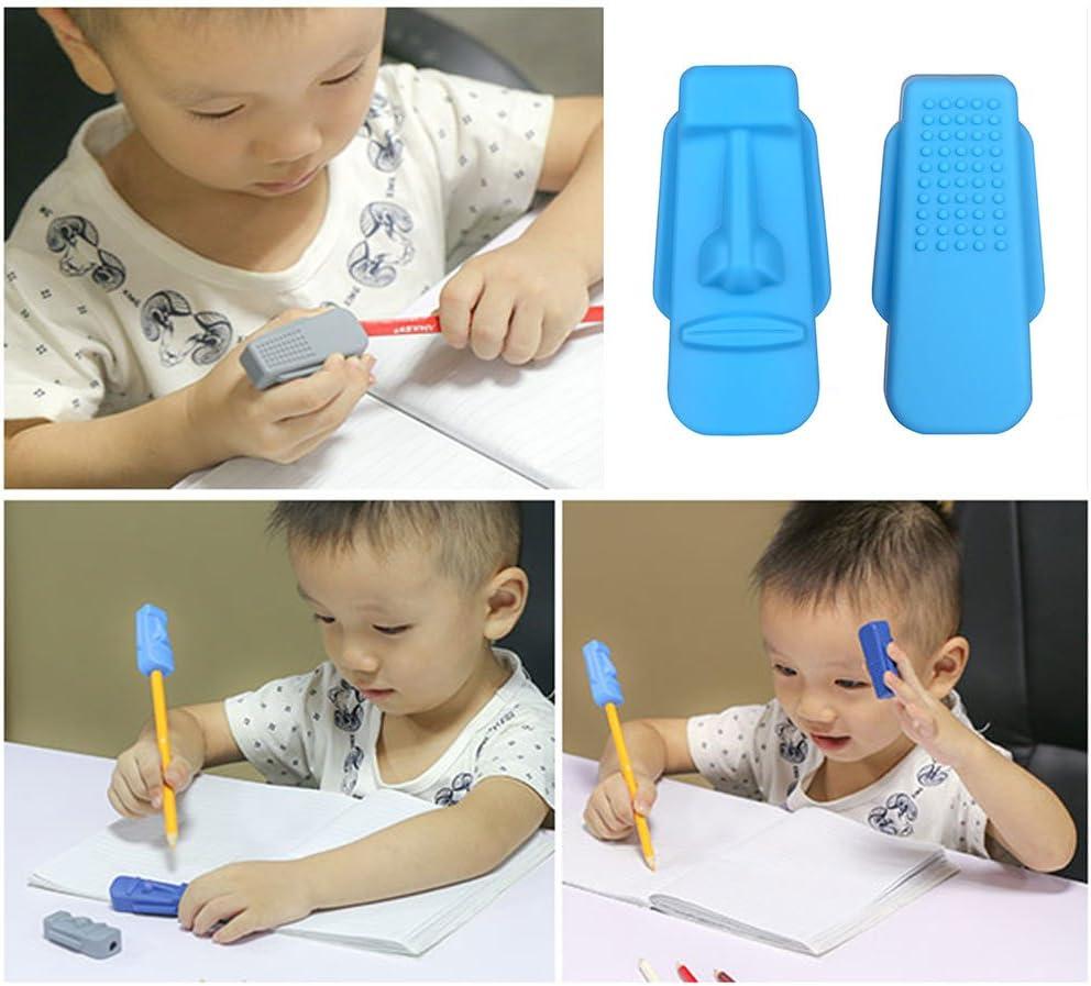 Bleistift Topper 5 St/ück Dsaren Silikon Stift Kappe Chewy Tubes BPA Free Therapie Spielzeug Oral Motor zum Autismus ADHS Special Needs 5 Stck