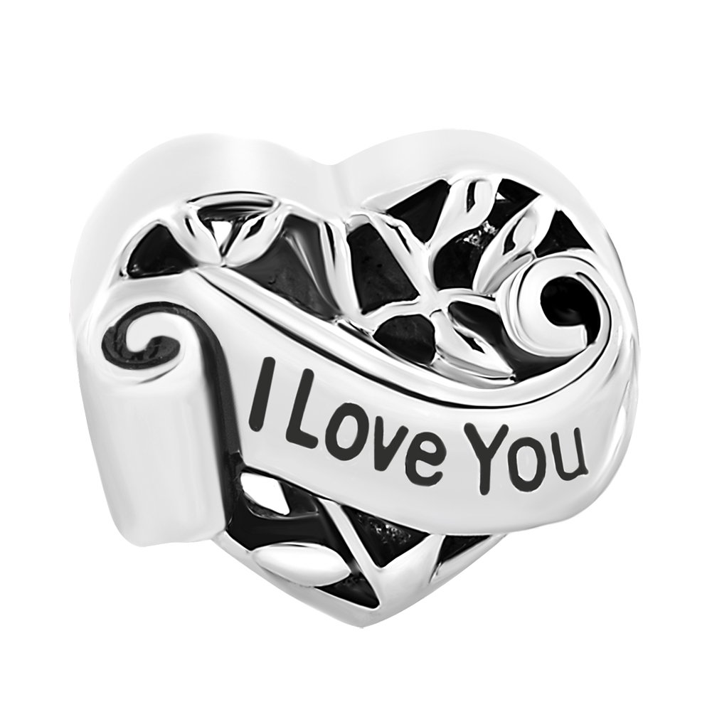 CharmSStory-Mothers-Day-Gifts-GrandmaWifeSisterNieceAunt-Heart-I-Love-You-Beads-For-Bracelets