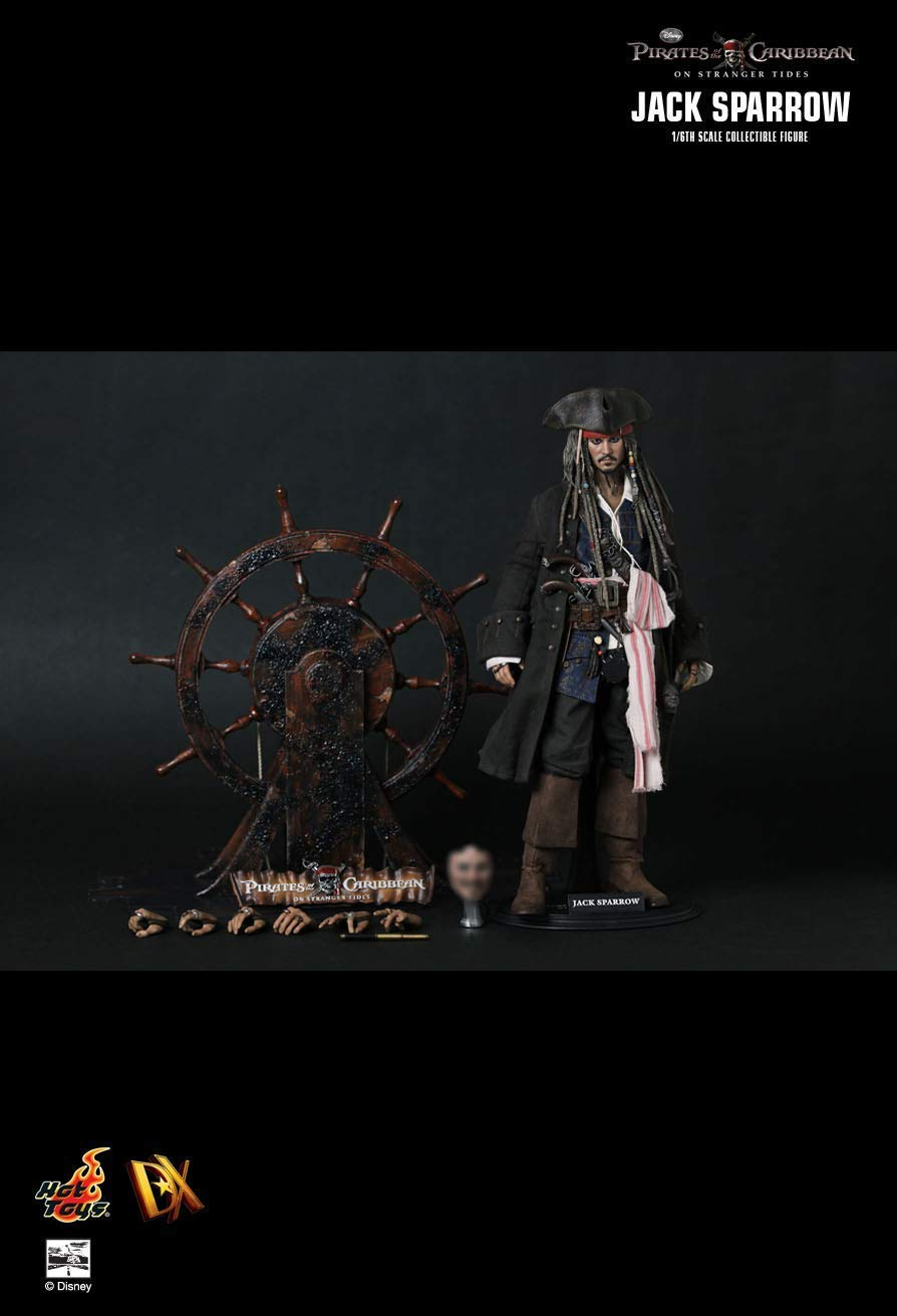 Hot Toys DX06 - Pirates of The Caribbean   On Stranger Tides - Jack Sparrow