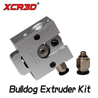 Impresora 3D - XCR3D Impresora 3D Piezas Todos Metal Bulldog ...