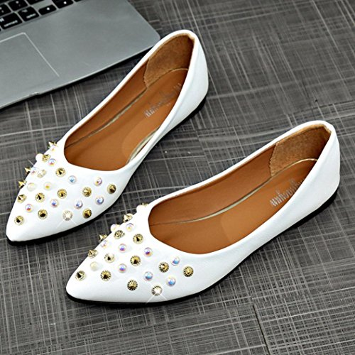 Mujer De Zapatos Bailarina Barato Mujer❤️Ba Hei Zha cRj4q3L5A