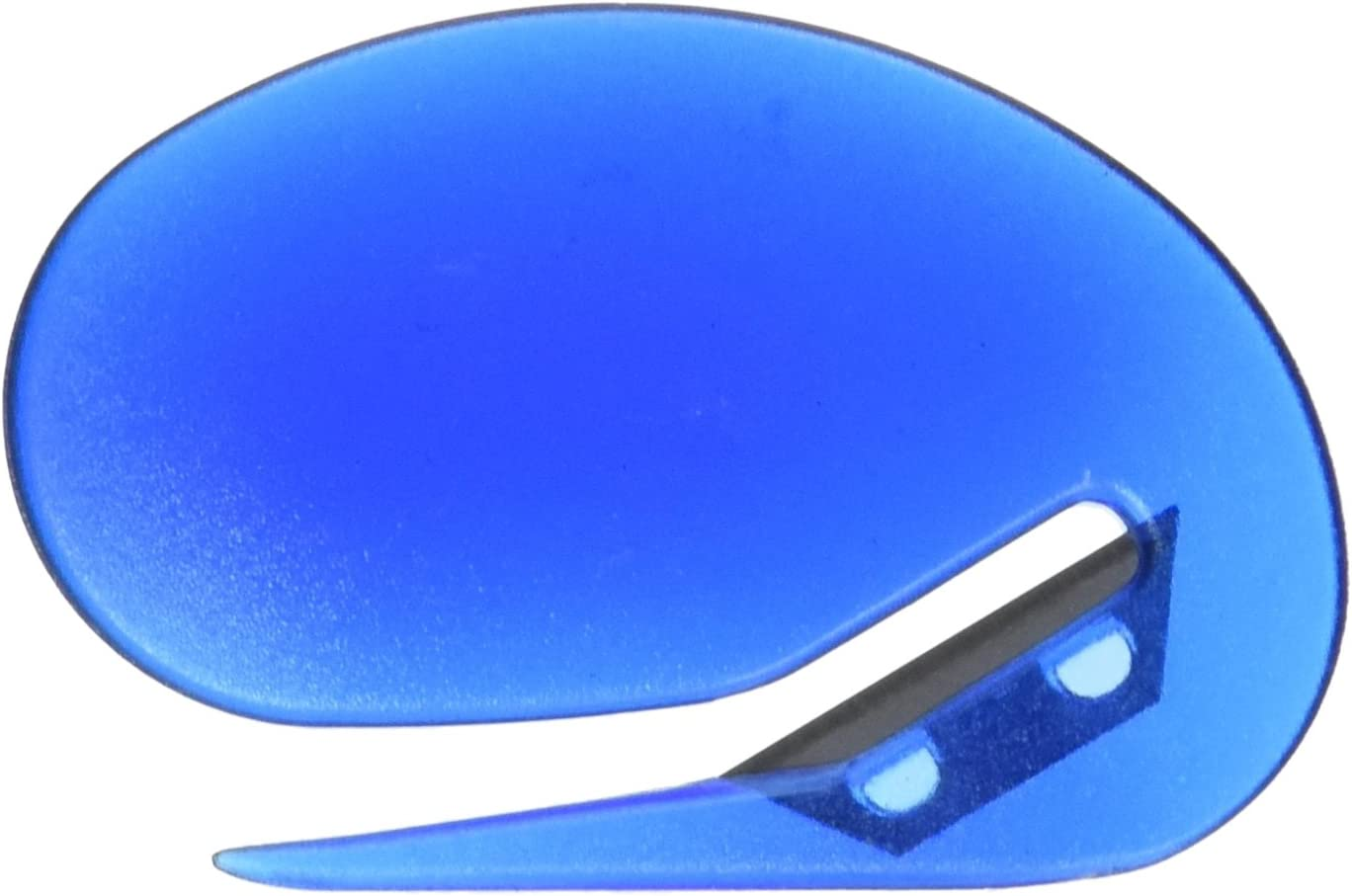 Officemate OIC Deluxe Plastic Letter Opener, Blue (30310)