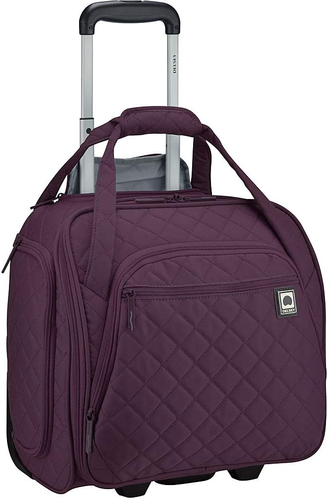 DELSEY Paris Rolling Under Seat Tote Bag, Violet, One Size