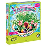FABER-CASTELL-Creativity for Kids Wee Enchanted Fairy Garden Kit. Create and grow your own magical miniature fairy land! Plant the seeds and beans; water and fairy Hannah will help from there! This package contains an 11in fairy garden dish; ...