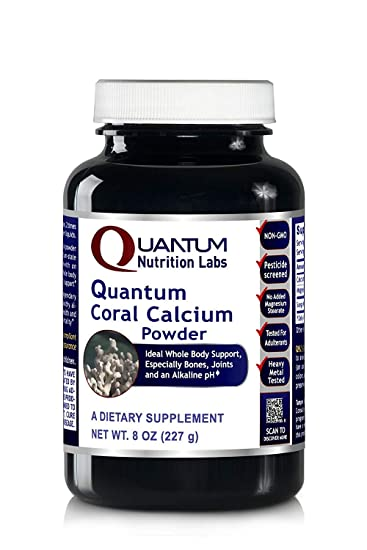 Amazon.com: Quantum polvo de Calcio de Coral, 32 oz (700 ...