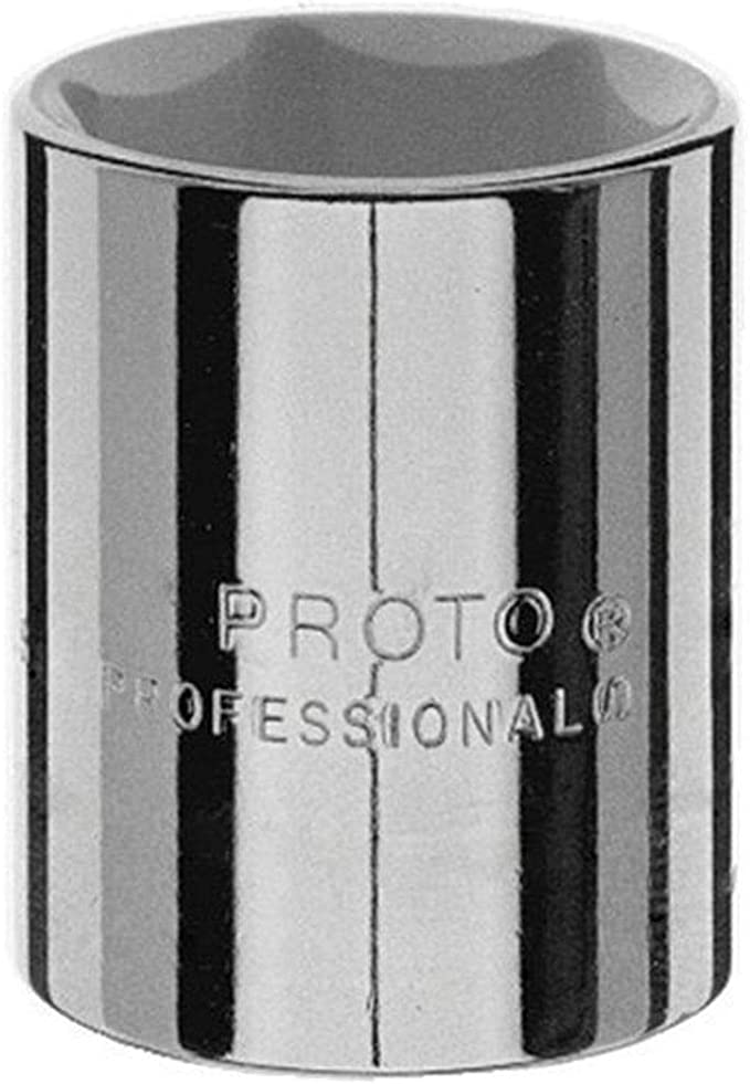 1-7//16-Inch Stanley J5446H Proto 6 Point 1//2-Inch Drive Socket