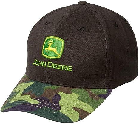 John Deere Wild con visera de camuflaje: Amazon.es: Deportes y ...