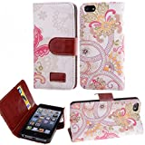 Best EVERMARKET Iphone 5s Phone Cases - Juzi for iPhone 5s 5, Wallet Case Cover Review
