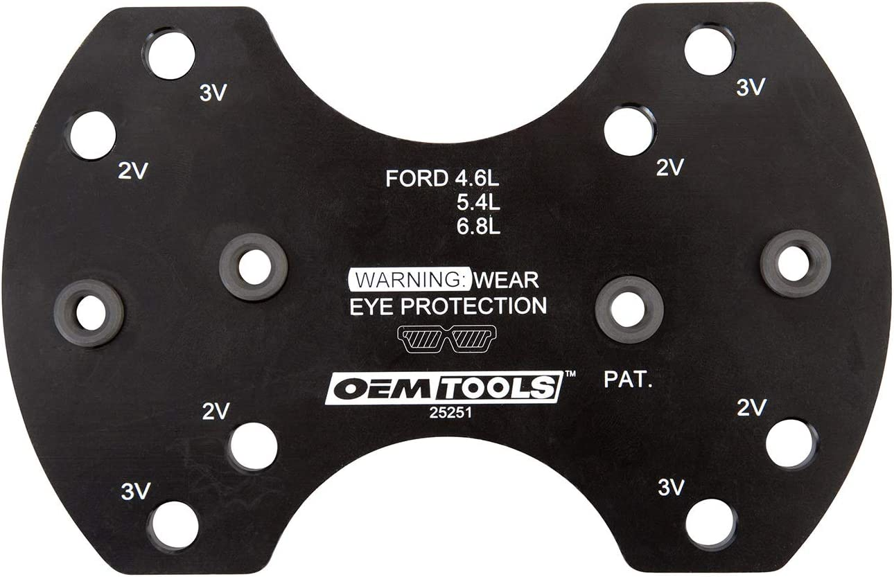 Ford 2V and 3V OEMTOOLS 25251 Manifold Drill Template