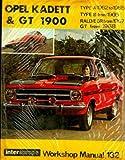 WSM-132 1962-1968 Opel Kadett Rally Olympia & GT 1900 Workshop Manual