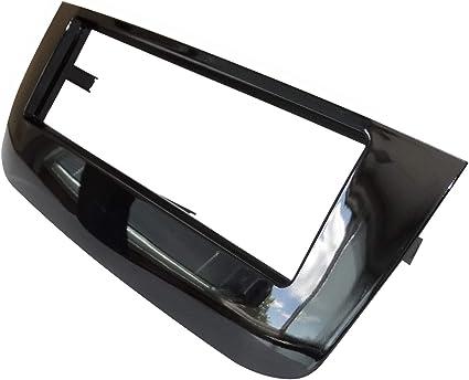Mascherina telaio adattatore 1DIN copertura in plastica stampata per il cambio sostituzione dellautoradio originale con un radio standard per veicoli automobile AERZETIX