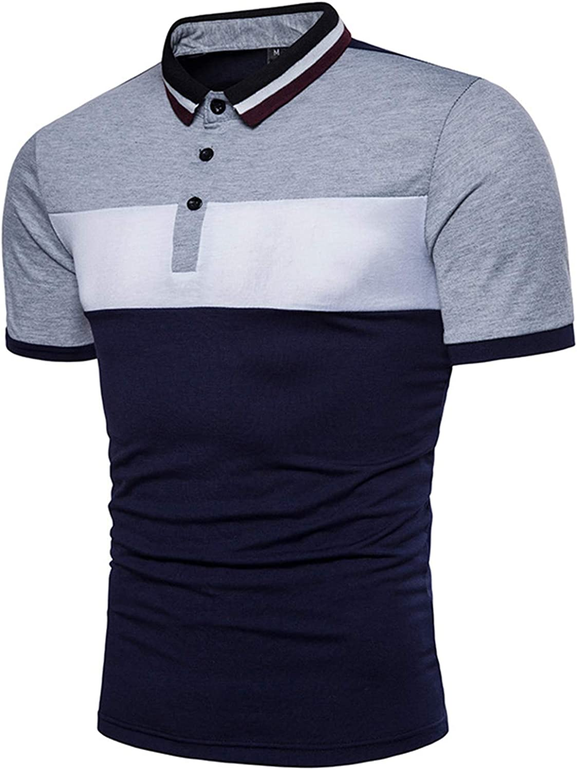 Fashion Summer Short Sleeve Polo Shirt Men Hit Slim Fit Camisa Polo Masculina Clothing Amazon Com