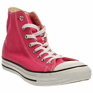 Kids Converse Shoes Hi Top Paper Pink Chuck Taylor Canvas Sneakers NEW