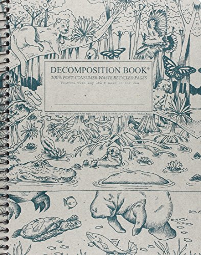 Everglades Coilbound Decomposition Book (Wirebound Rule)