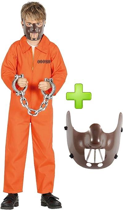 Disfraz de Psicopata Canibal (10-12): Amazon.es: Juguetes y juegos