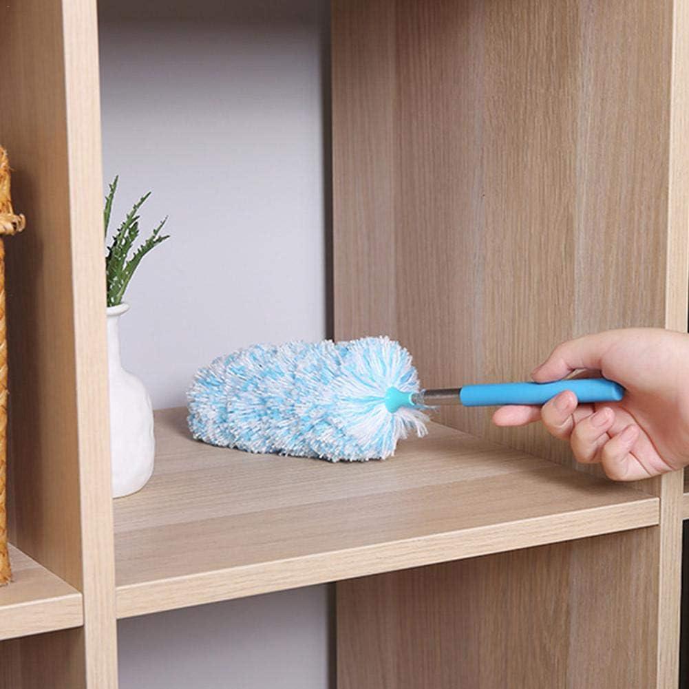 Plumero de Microfibra plumeros Extensibles para Limpiar la Oficina en el hogar computadora autom/óvil Rikey Plumero de Microfibra Cepillo de Polvo Lavable Herramienta de Limpieza