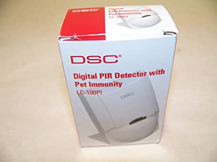 TYCO SAFETY PRODUCTS DSC LC100PI DIGITAL PIR DETECTOR WITH PET IMMUNITY,