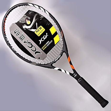 YXZDBB Raqueta De Tenis De Entrenamiento De Fibra De Carbono ...