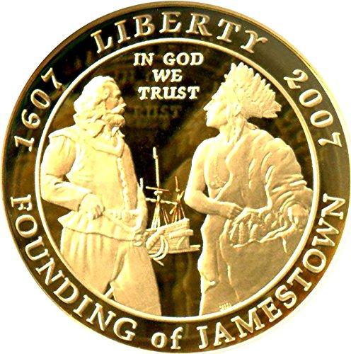 2007 W $5 Modern Commems - Gold Jamestown Five Dollar PR70 NGC DCAM ()
