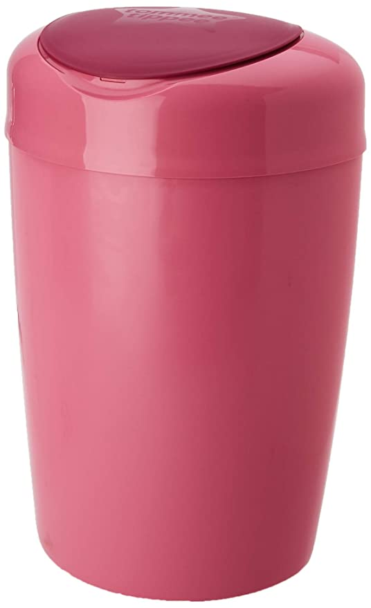 Tommee Tippee Simplee Sangenic - Contenedor de pañales, color rosa