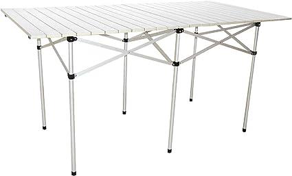 Neu Campingtisch aus Aluminium 70 x 70 x 70 cm Camping Tisch Alutisch klappbar
