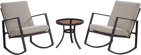 Deal of the week: Liberty Garden Patio SC-K-601-2ERC-3T Aurora 3-Piece Cushion Seating Set